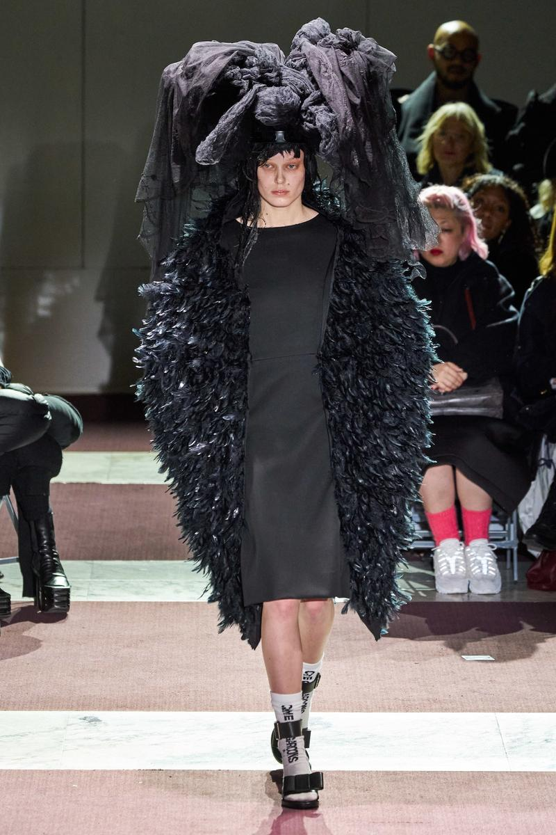 COMME des GARCONS Fall/Winter 2020 Collection Paris Fashion Week Runway Rei Kawakubo
