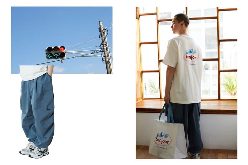 CONICHIWA Bonjour Spring/Summer 2020 Collection Lookbook T-shirts Sweatshirts Hats Caps Tote Bag Korean Emerging Streetwear Label
