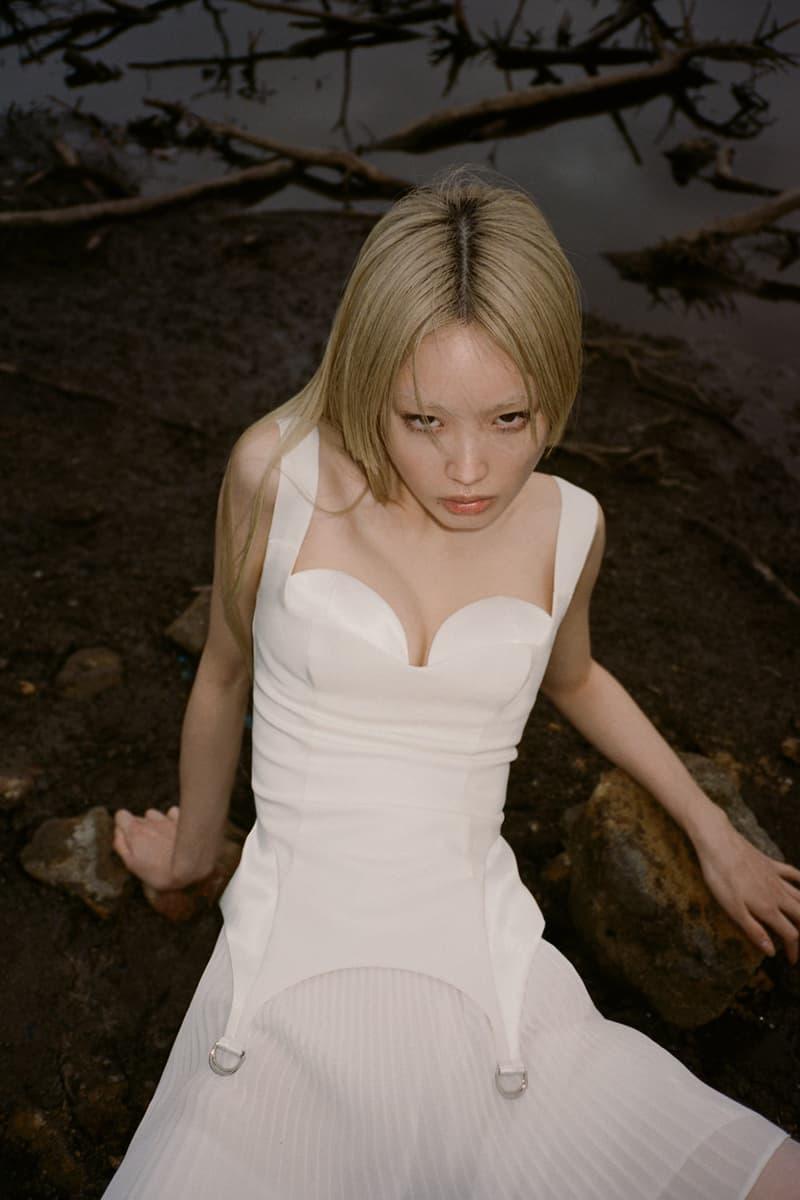 DAISY ZERO Collection Fashion Brand Australian Rubberized Bralette White