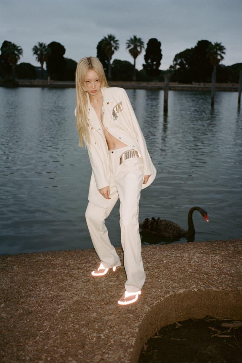 DAISY ZERO Collection Fashion Brand Australian Jacket Pant 01 White