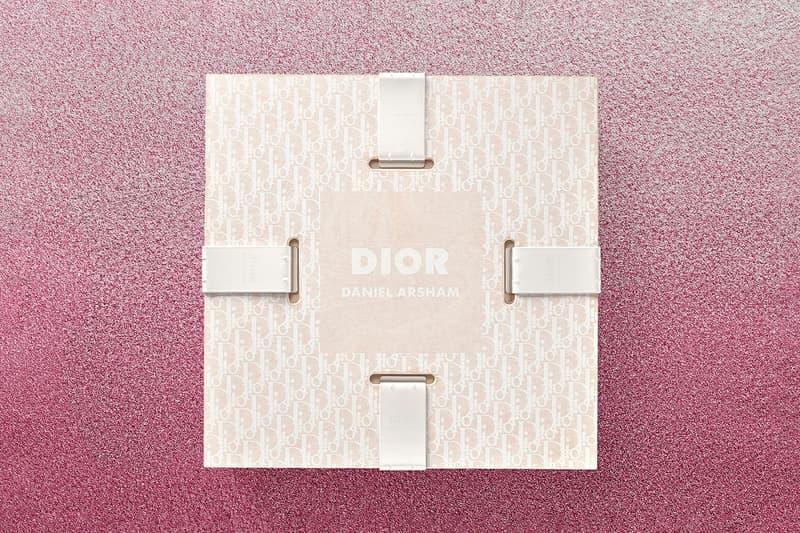 Daniel Arsham x Dior Future Relics Sculptures Packaging