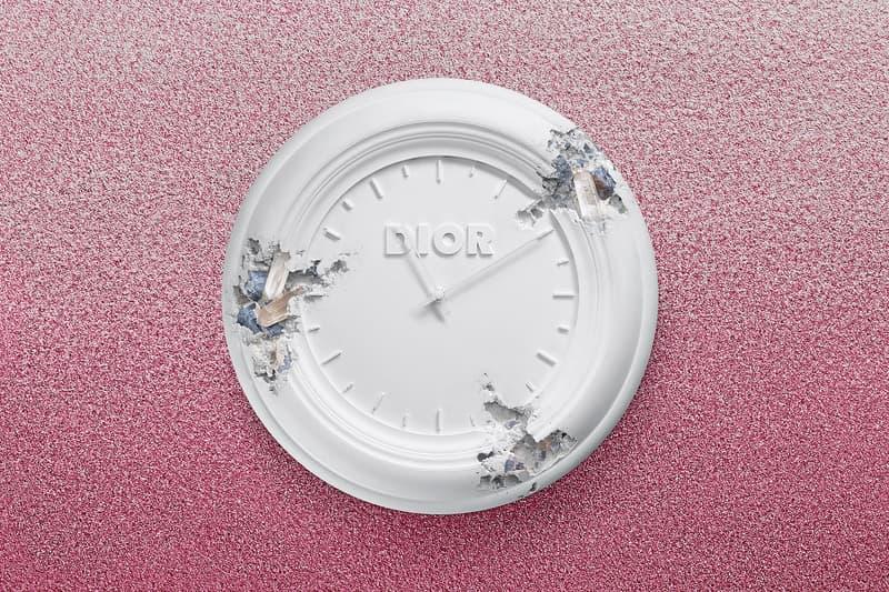 Daniel Arsham x Dior Future Relics Sculptures Clock
