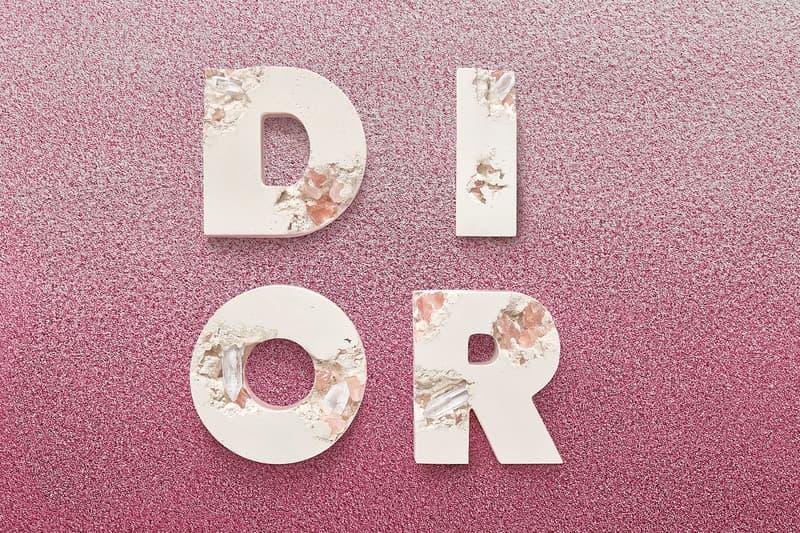 Daniel Arsham x Dior Future Relics Sculptures Letters