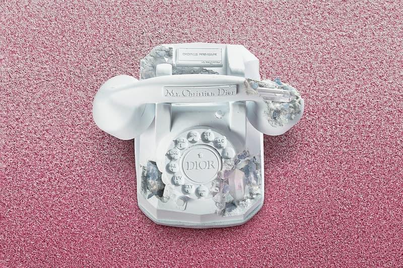 Daniel Arsham x Dior Future Relics Sculptures Telephone