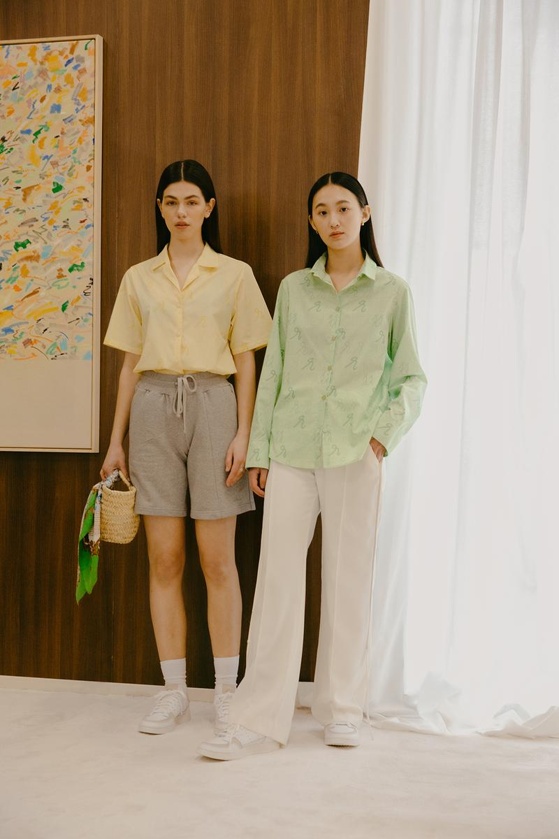 Daniëlle Cathari SS20 Collection Campaign Button Down Yellow
