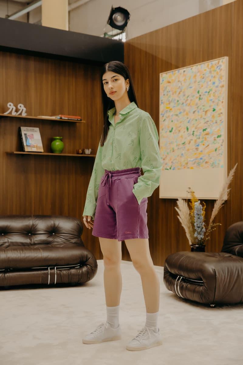 Daniëlle Cathari SS20 Collection Campaign Button Down Shirt Green