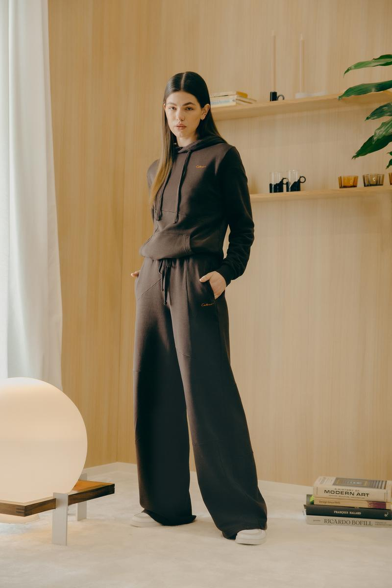 Daniëlle Cathari SS20 Collection Campaign Hoodie Sweatpants Black