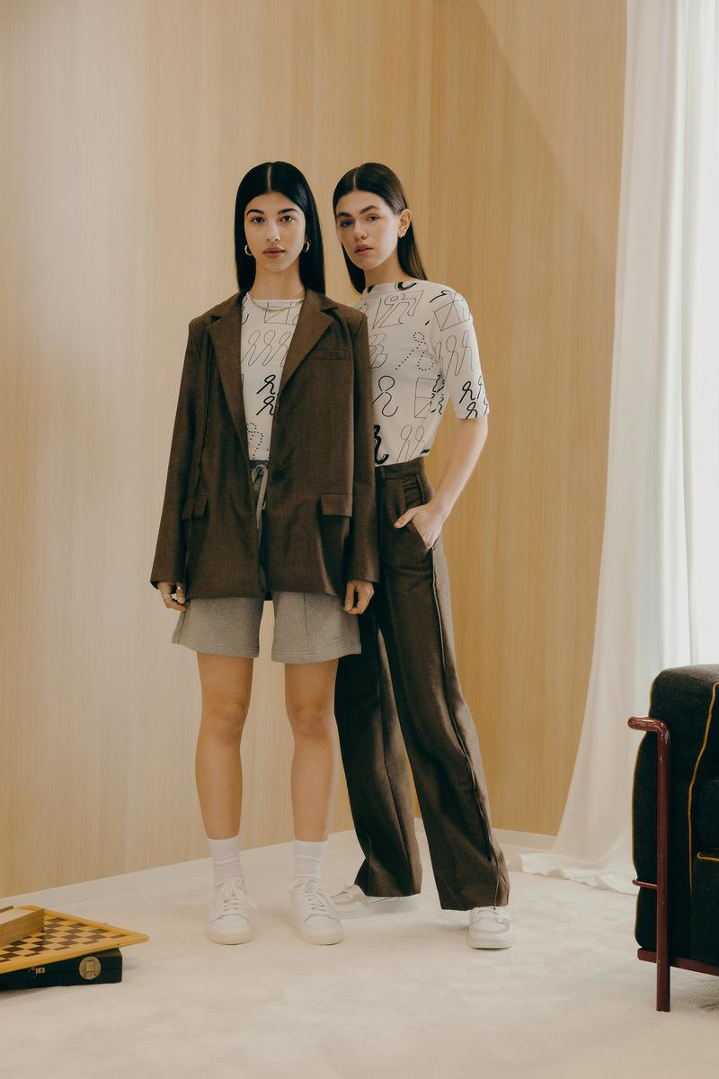 Daniëlle Cathari SS20 Collection Campaign Blazer Pants Brown
