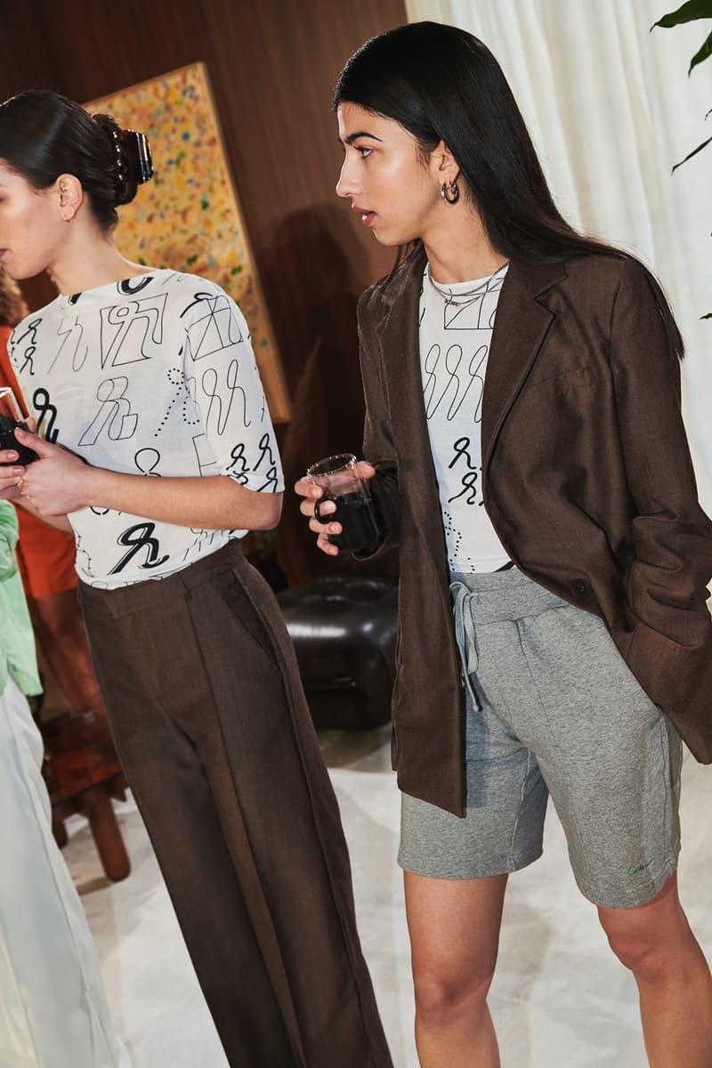 Daniëlle Cathari Designer Amsterdam Fashion Week Spring Summer 2020 SS20 Presentation Models Blazer Sweat Shorts