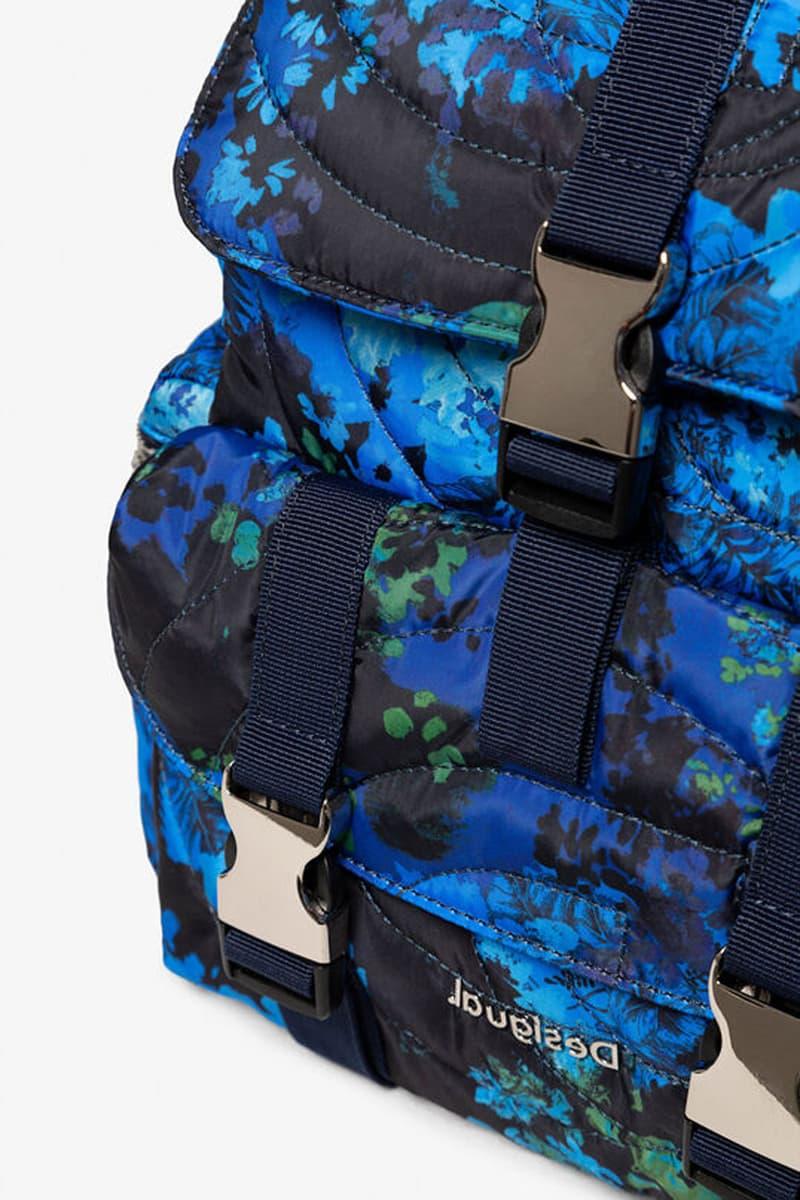 desigual camoflower backpack spring summer 2020