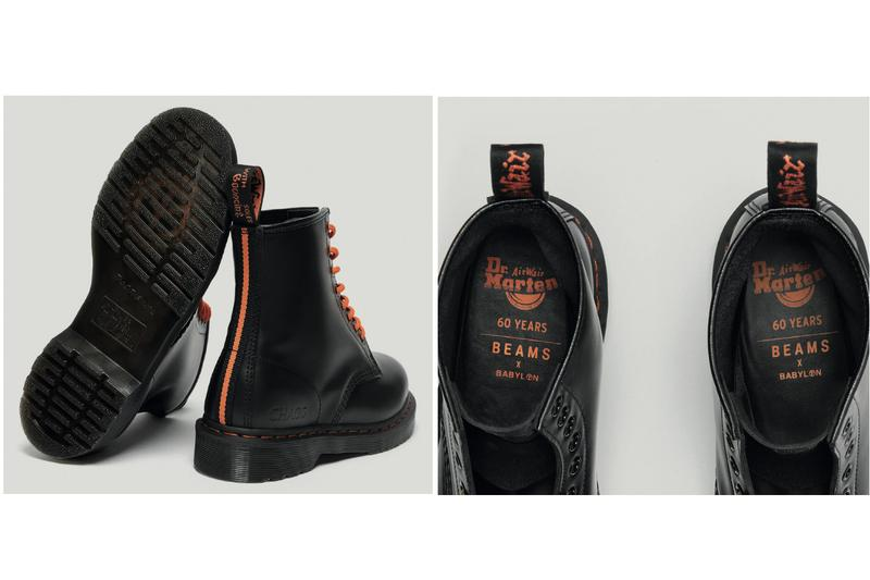 Dr. Martens x Beams x Babylon 1460 Remastered Boot Silhouette Release Collaboration Limited Edition