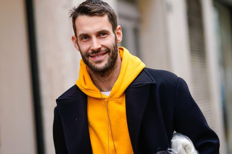 Simon Porte Jacquemus Paris Fashion Week FW18 Street Style
