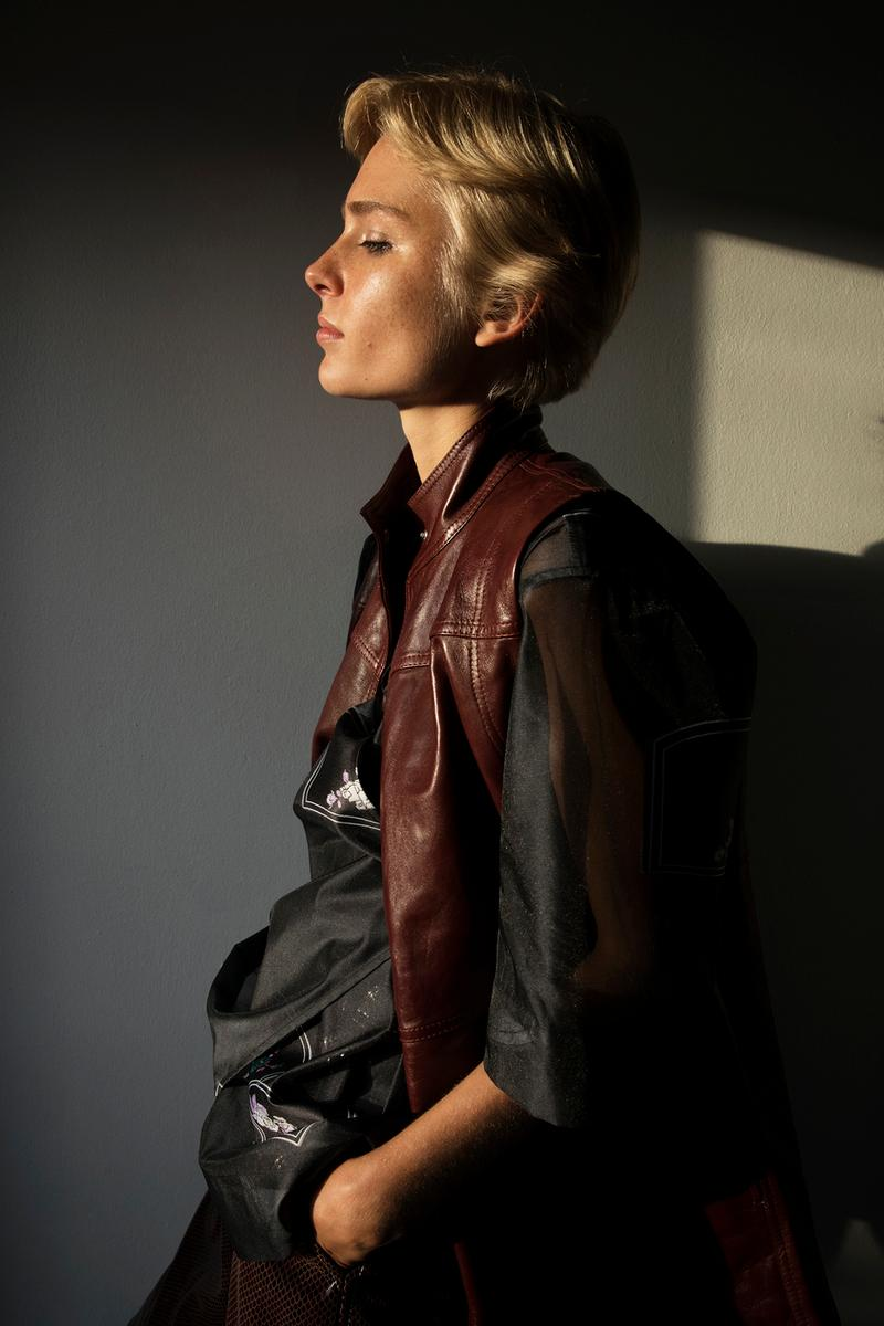 GANNI Spring/Summer 2020 Collection Leather Vest Brown