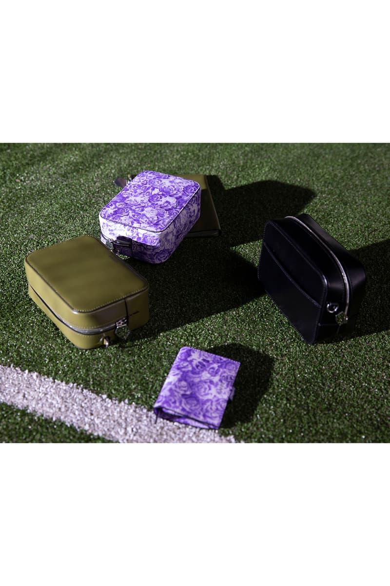 GANNI Spring/Summer 2020 Collection Floral Wallet Bag Purple