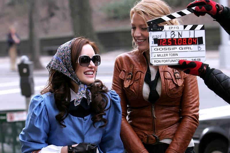 Leighton Meester Blake Lively Gossip Girl Filming 2008