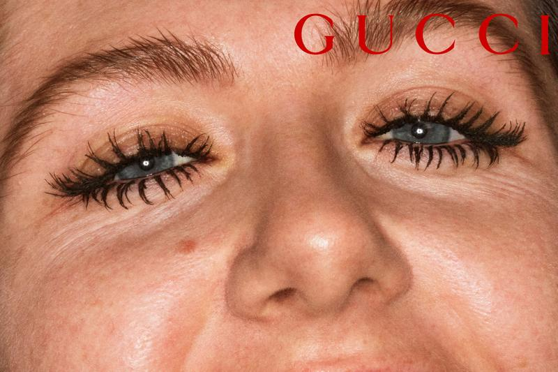 gucci beauty mascara lobscur makeup alessandro michele thomas de kluyver