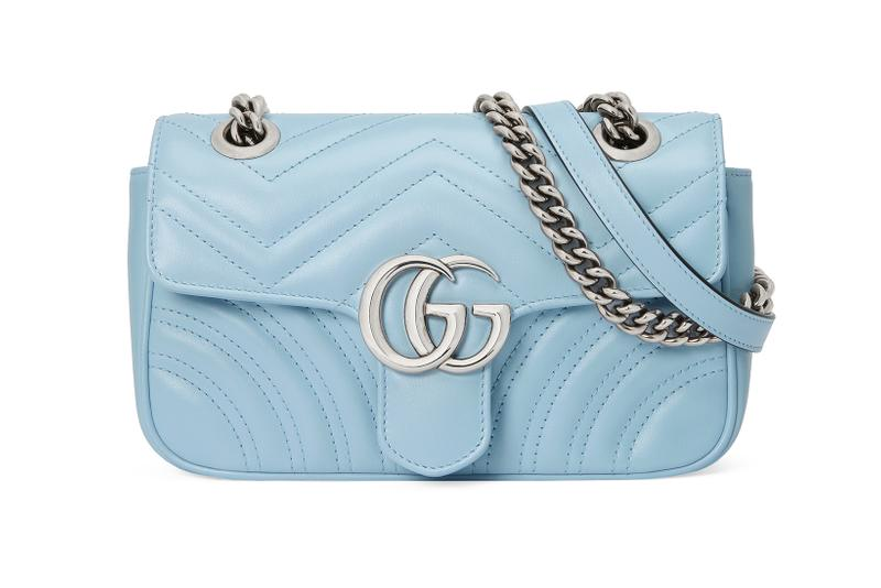 gucci gg marmont 2 0 pre fall collection pastel pink green yellow blue alessandro michele mothers day
