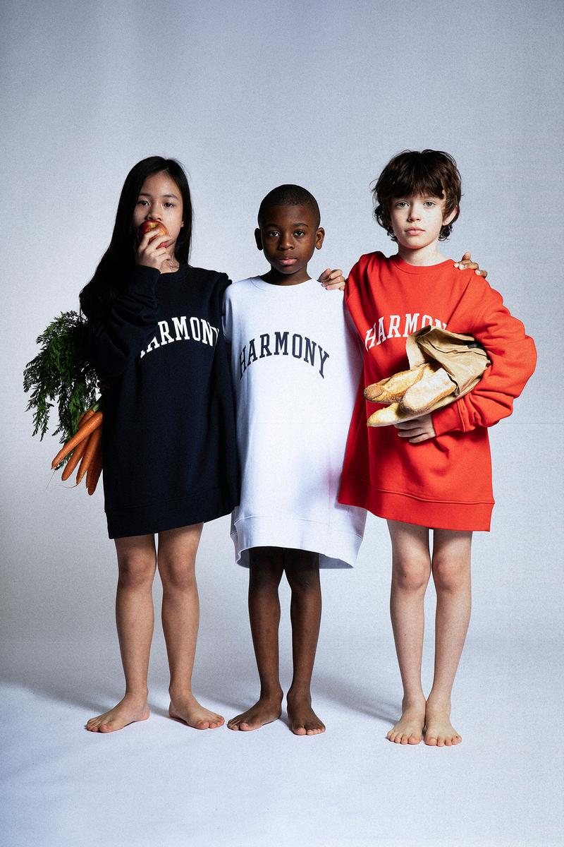 Harmony Paris USA Program Spring/Summer 2020 Collection Lookbook College Sweater Navy White Red