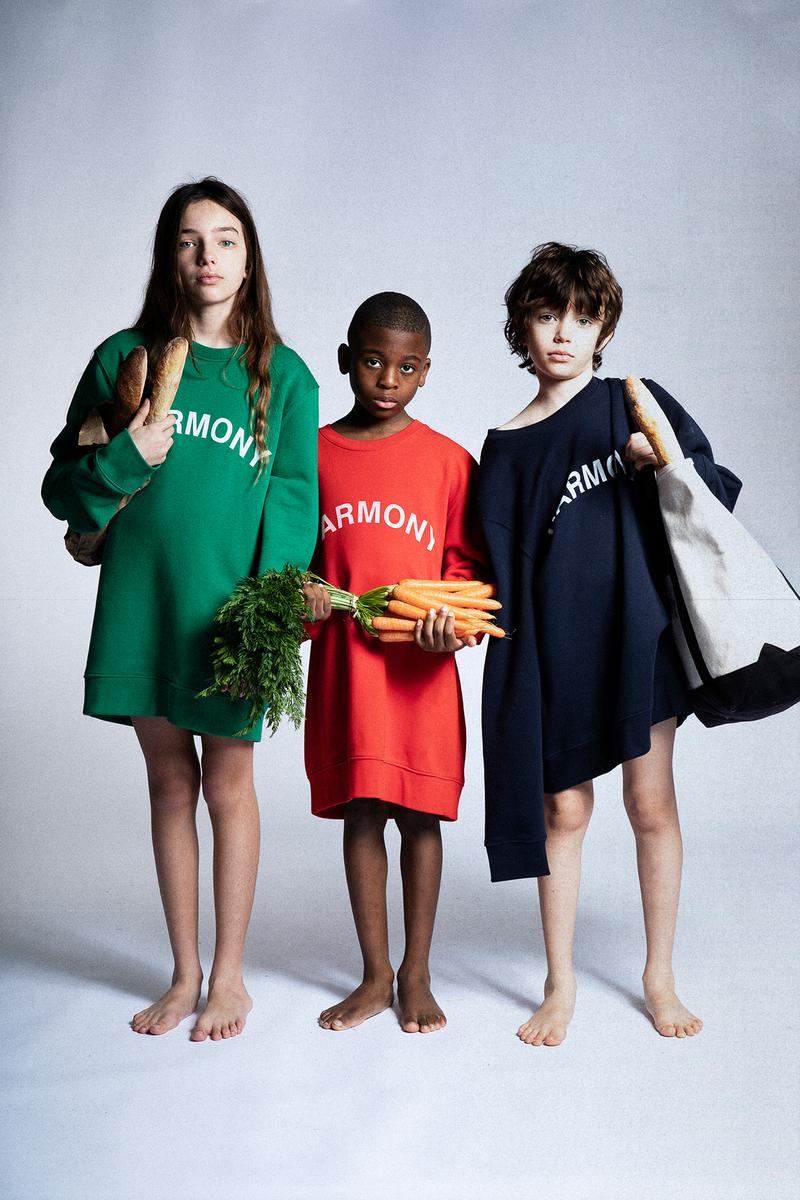 Harmony Paris USA Program Spring/Summer 2020 Collection Lookbook Sael Hoodie Sweater Green Red Navy