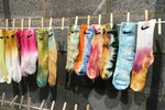 Picture of How to Tie-Dye Socks at Home
