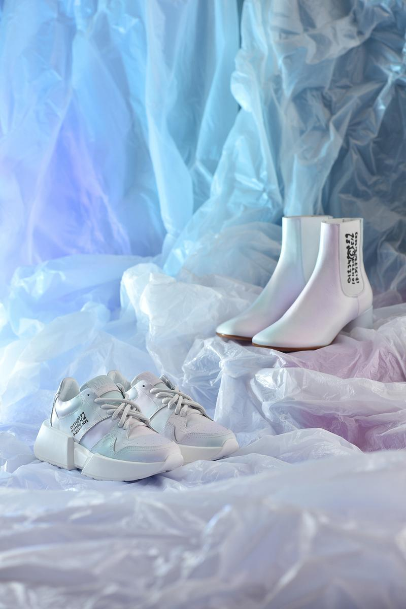 I.T x MM6 Maison Margiela Collection Sneakers Boots