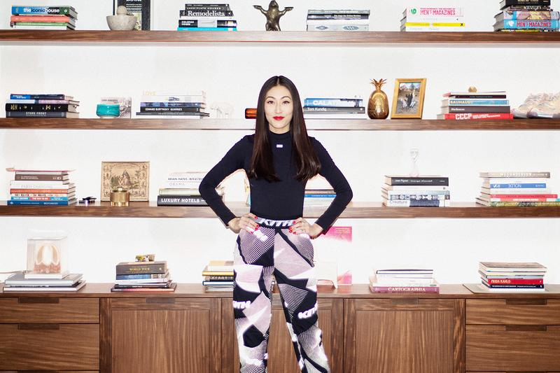 Jackie Kim Kith Women Director Home Book Shelf Decor