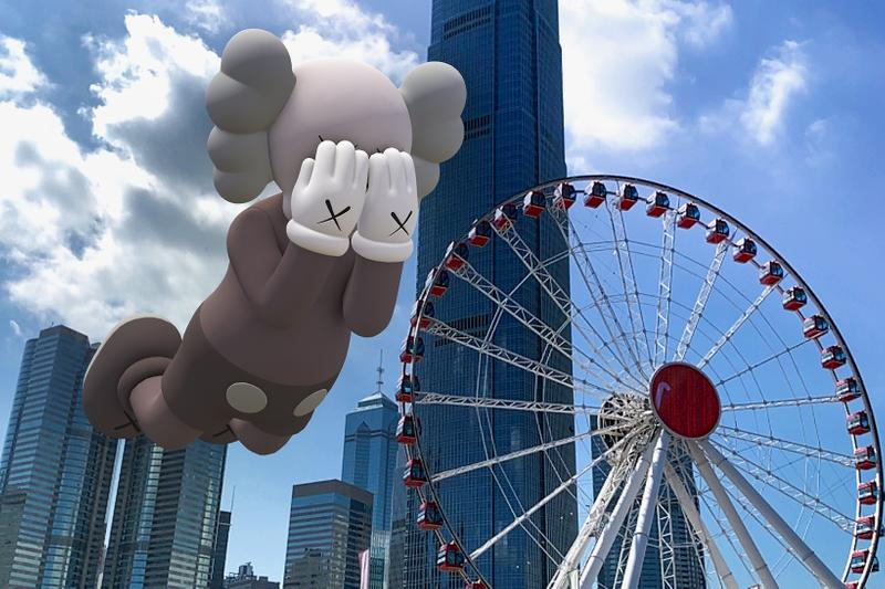 kaws companion brian donnelly acute art app collaboration expanded holiday augmented reality sculptures exhibition new york paris
