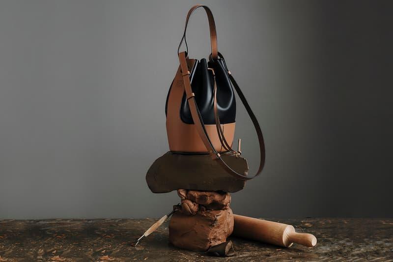 Loewe Balloon Bag SS20 Black Brown
