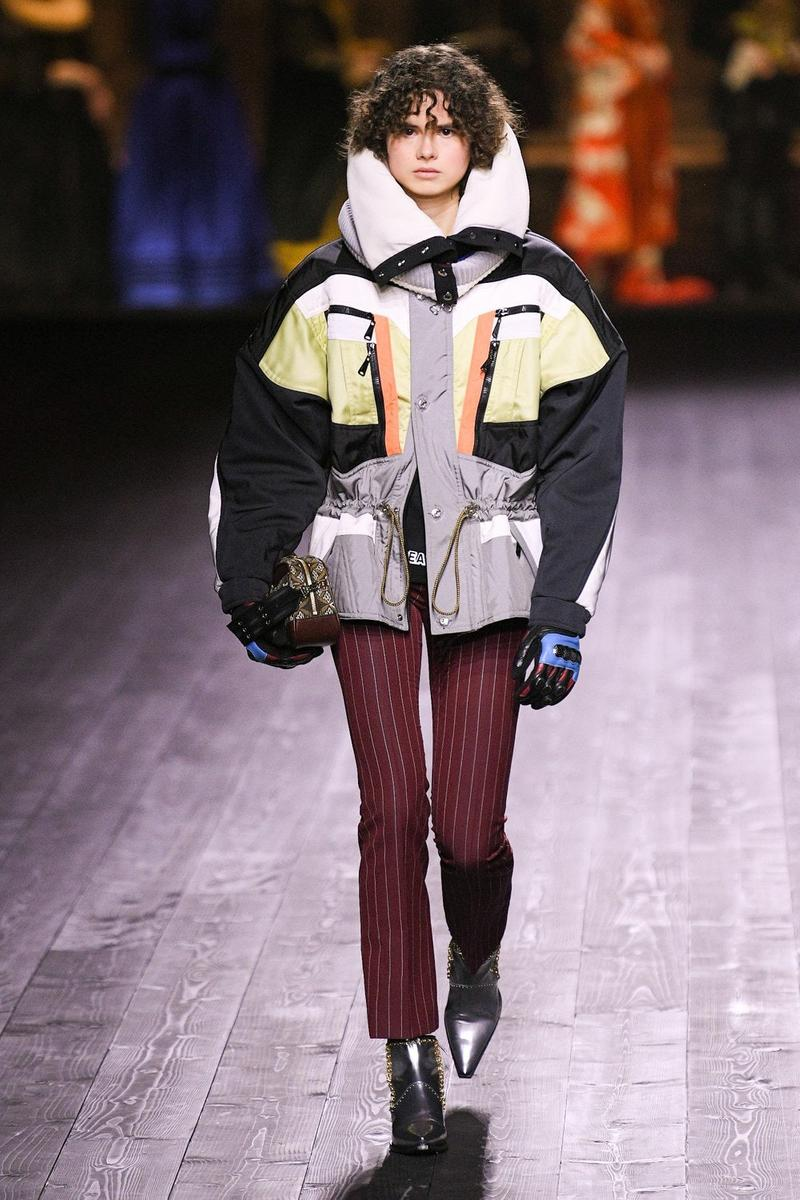 Louis Vuitton Fall/Winter Collection Runway Show Jacket Drawstring Waist