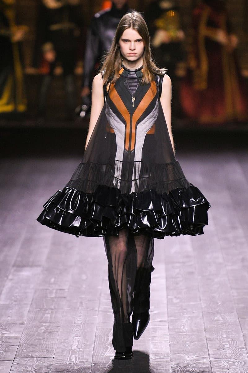 Louis Vuitton Fall/Winter Collection Runway Show A-Line Dress