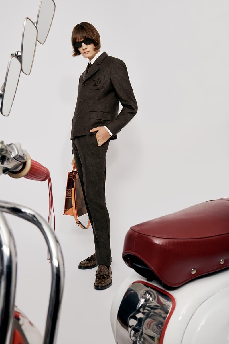 Louis Vuitton NIGO x Virgil Alboh LV2 Collection Lookbook Suit Tote