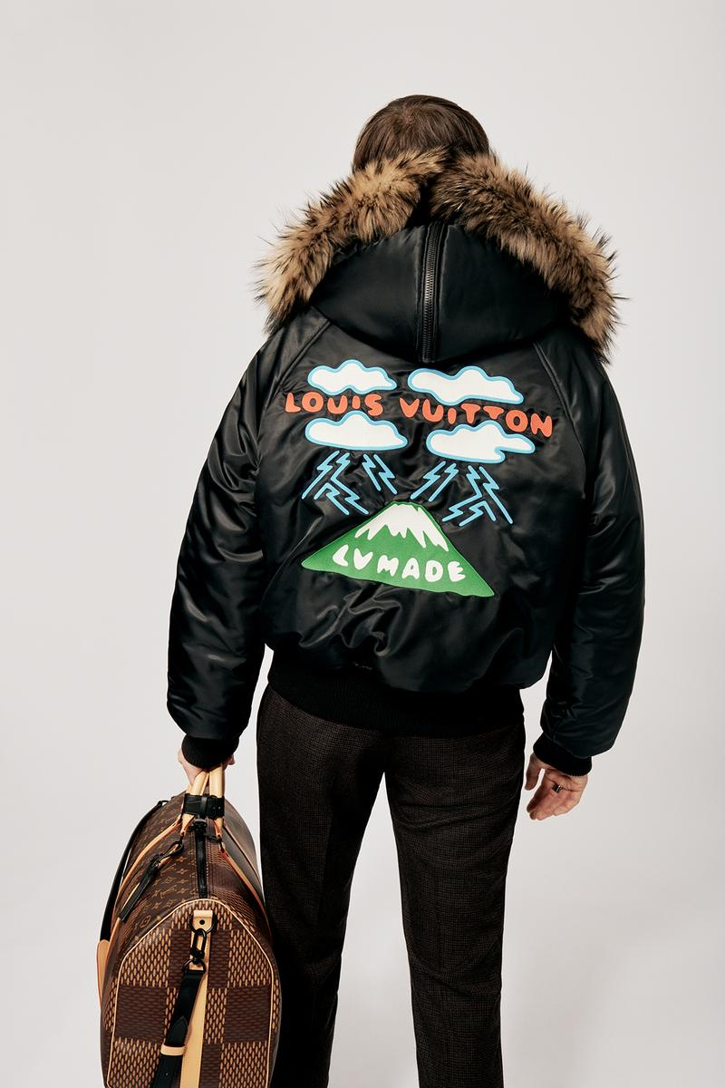 Louis Vuitton NIGO x Virgil Alboh LV2 Collection Lookbook Flight Jacket