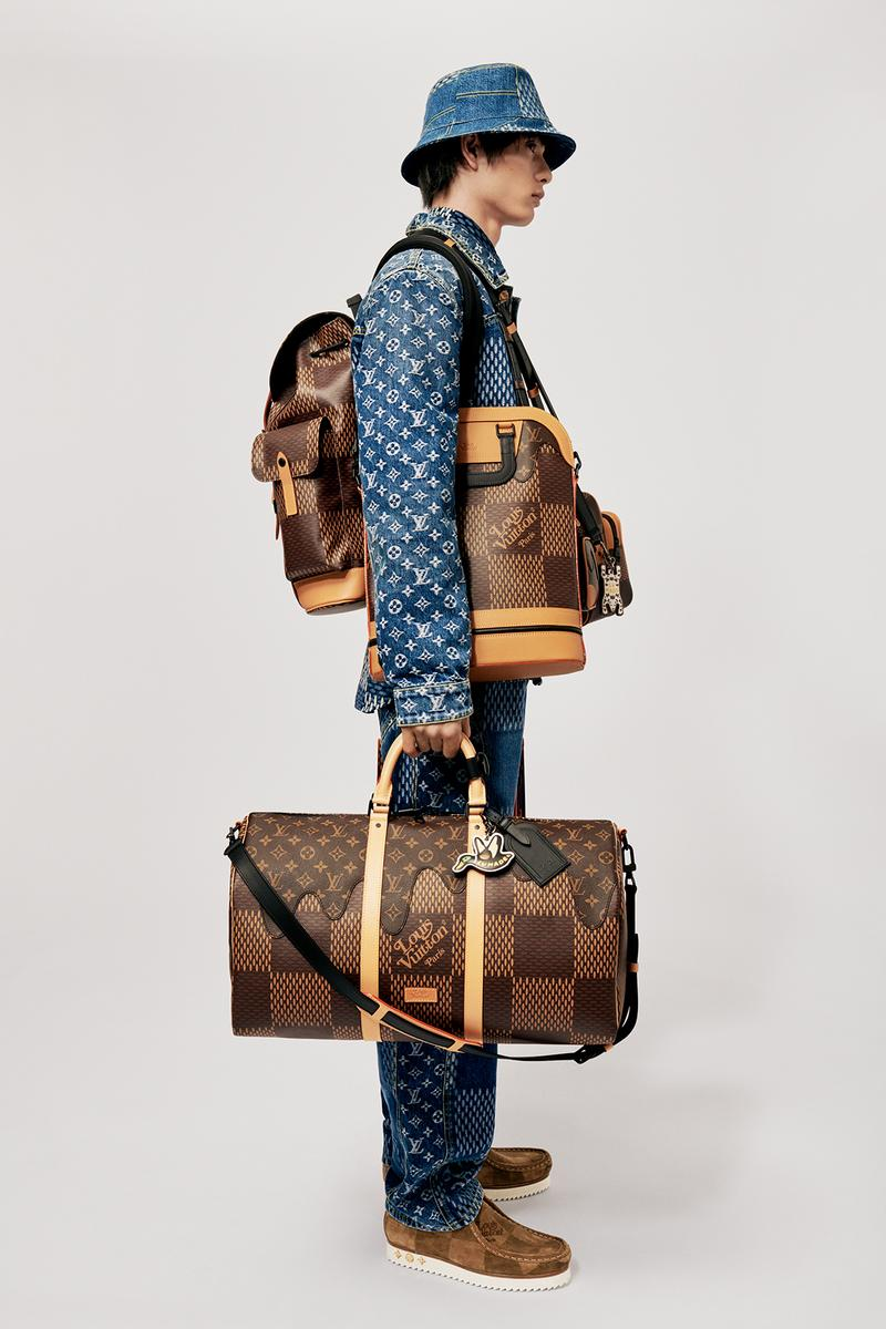Louis Vuitton NIGO x Virgil Alboh LV2 Collection Lookbook Duffel Bag Backpack Damier Monogram