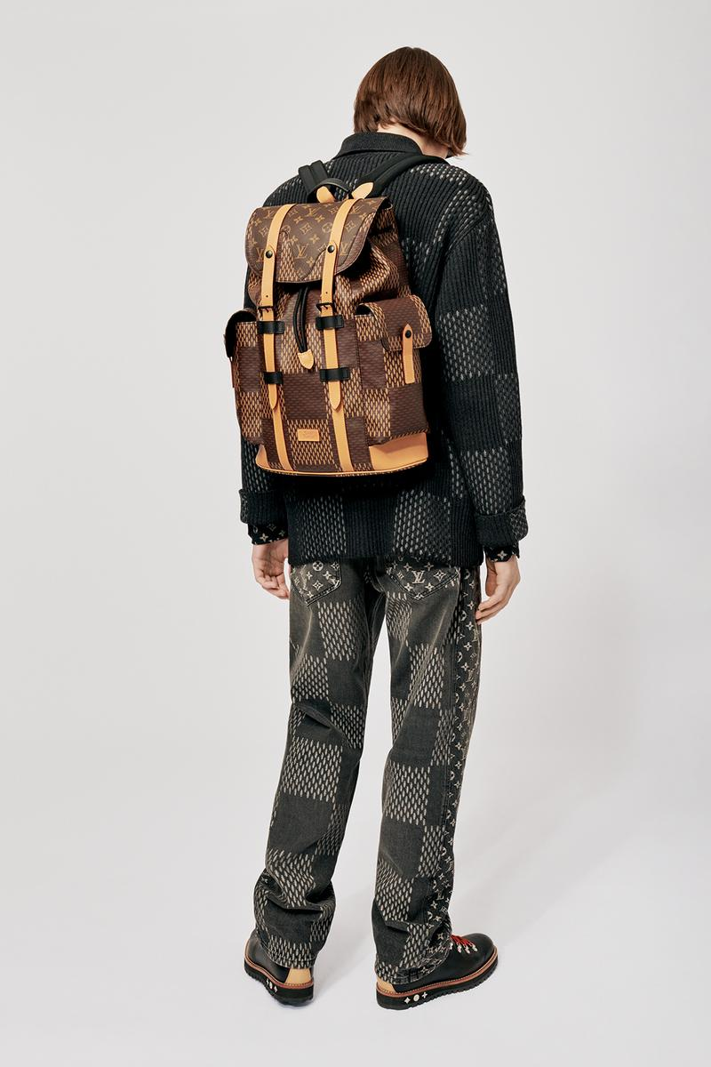 Louis Vuitton NIGO x Virgil Alboh LV2 Collection Lookbook Jacket Jeans Backpack