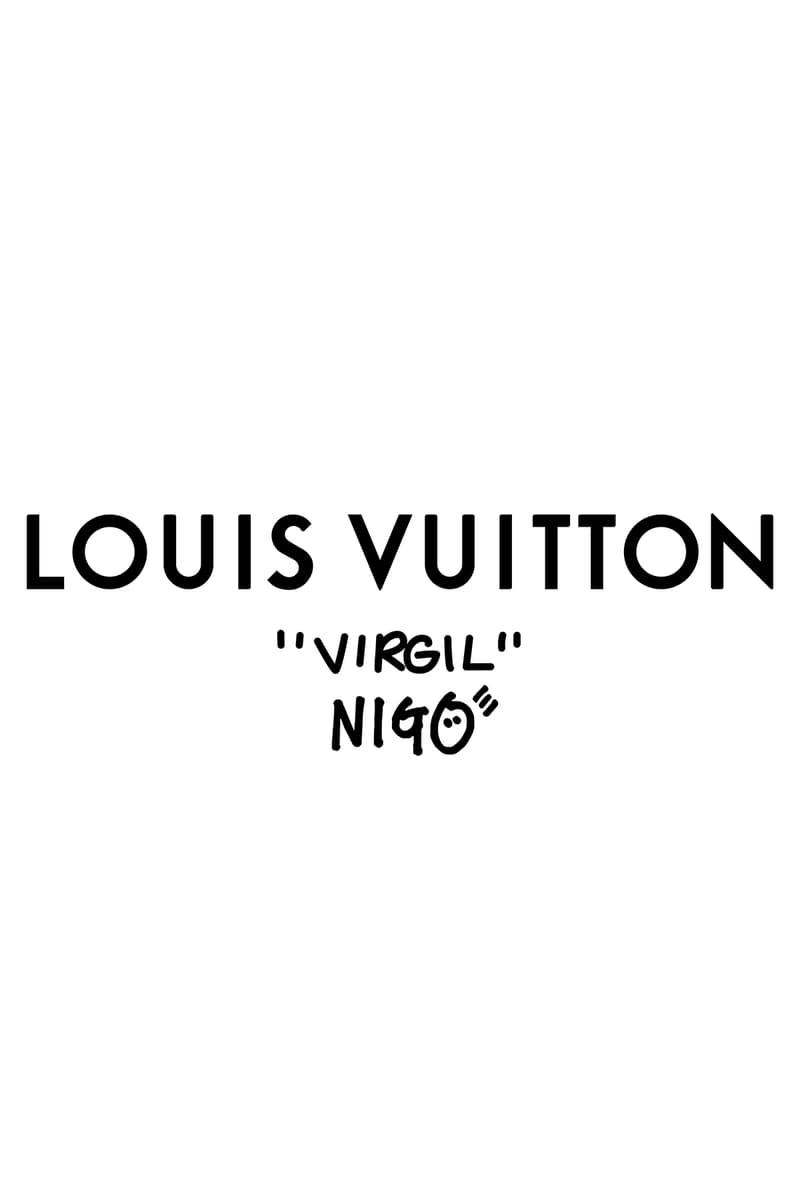 Louis Vuitton NIGO x Virgil Alboh LV2 Collection Lookbook Logo