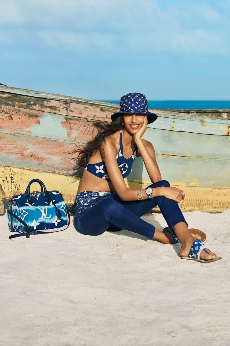 Louis Vuitton Summer Monogram Pastel Collection Campaign