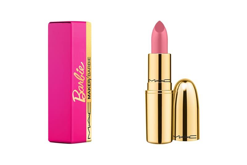 mac maker barbie collaboration limited edition bubblegum pink lipstick makeup beauty