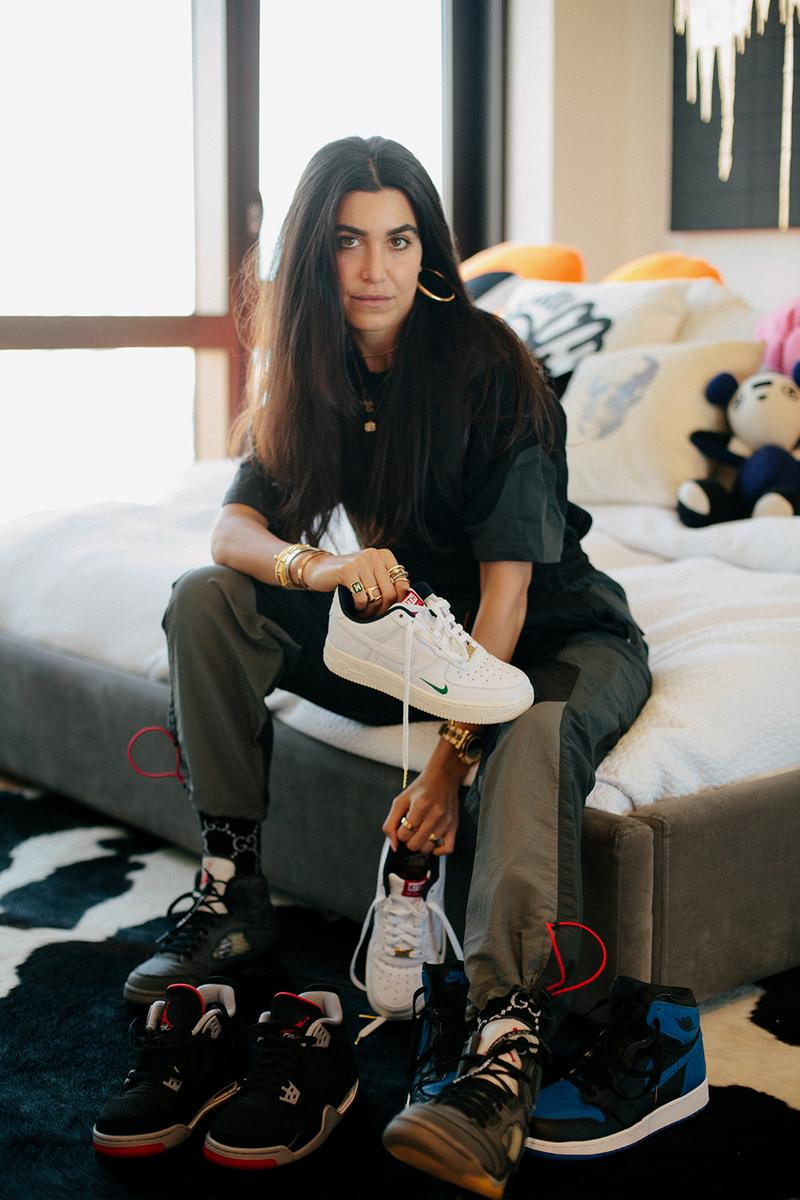 madison blank sneaker collector new york city mens fashion interview nike air force 1 kith Jordan 1 4 royal bred