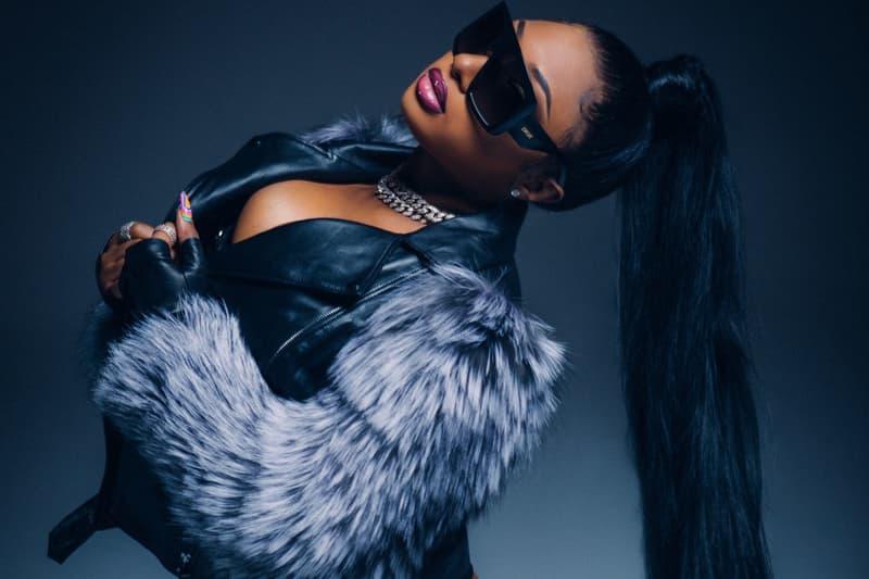 Megan Thee Stallion Suga Album Portrait Captain Hook Ponytail Musician Singer Hip Hop