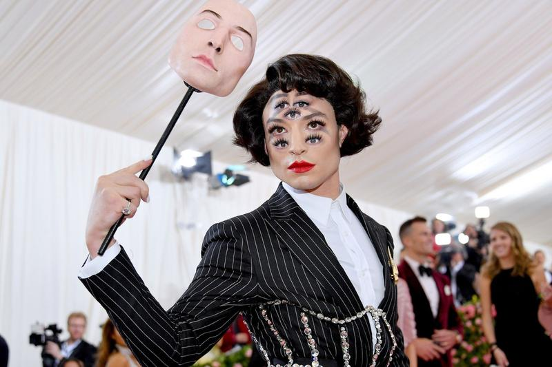 Met Gala 2019 Ezra Miller Red Carpet