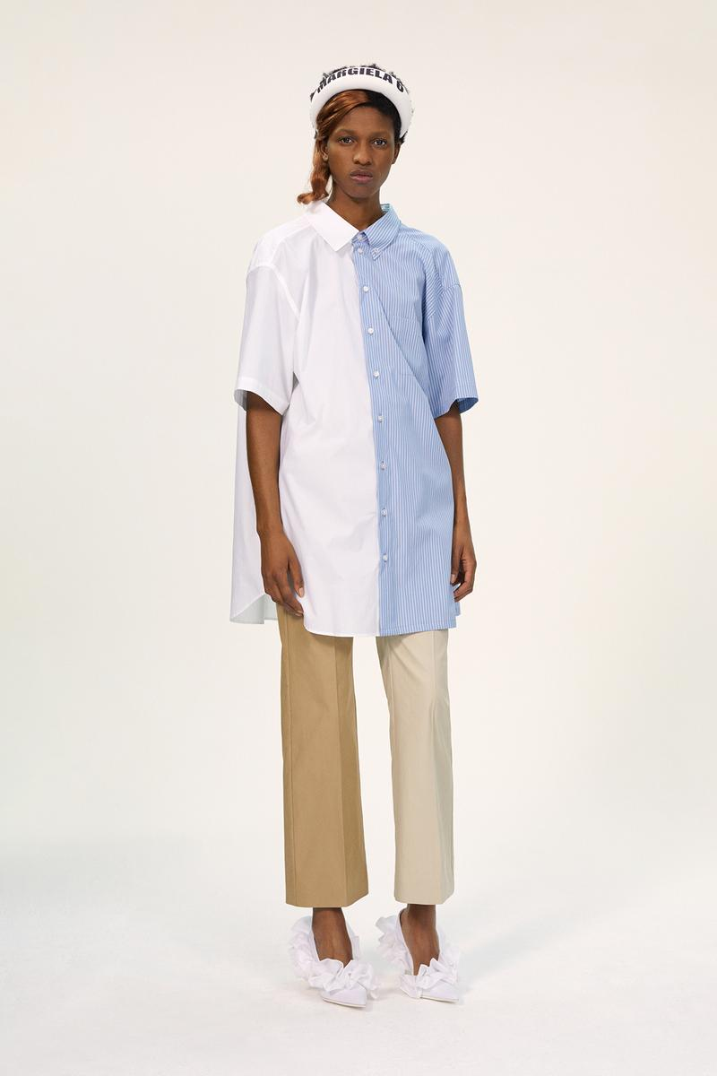 MM6 Maison Margiela Spring/Summer 2020 Collection Lookbook Multicolor Button Down Pants