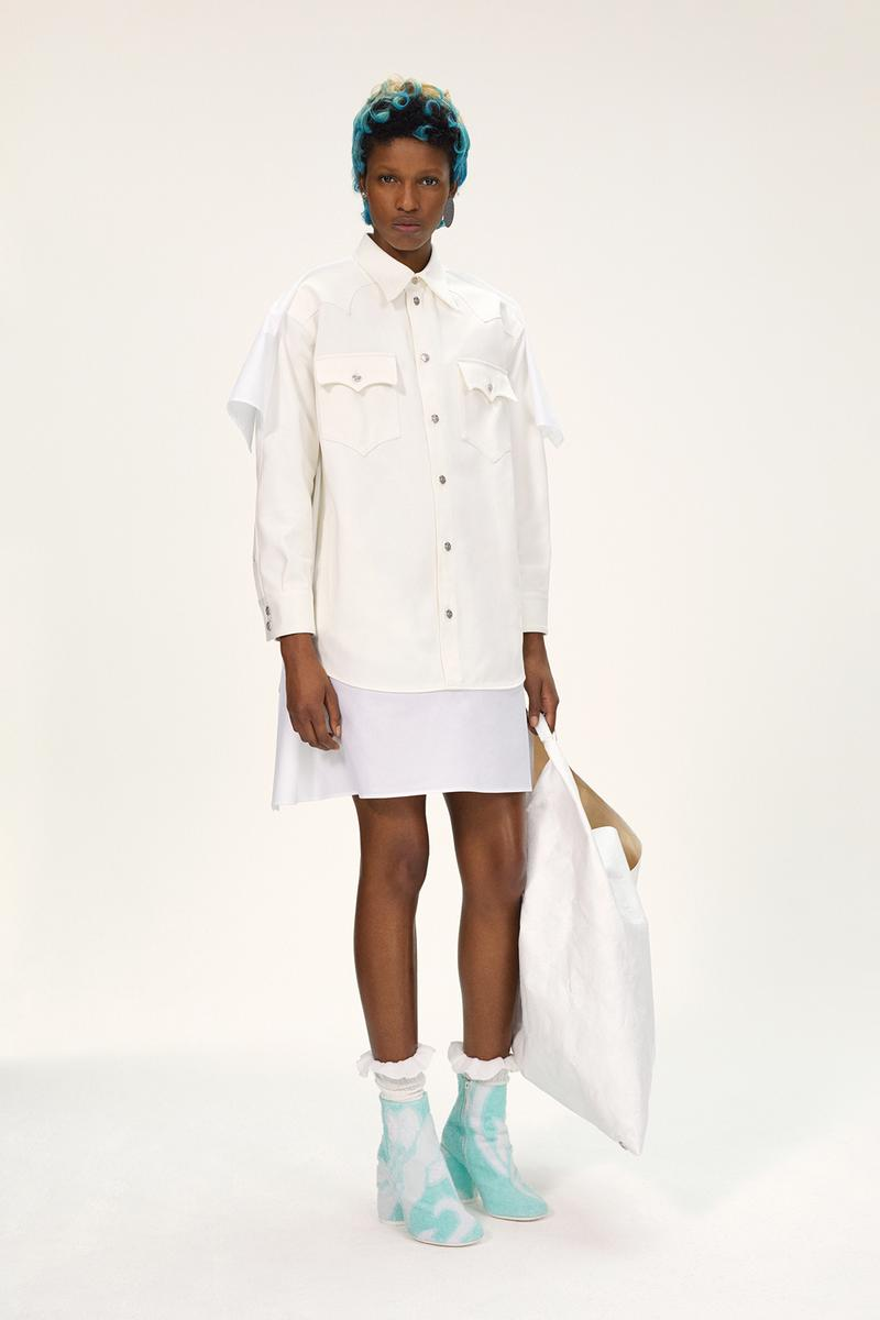 MM6 Maison Margiela Spring/Summer 2020 Collection Lookbook Western Button Down