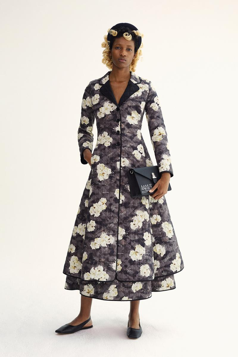 MM6 Maison Margiela Spring/Summer 2020 Collection Lookbook Floral Quilted House Coat