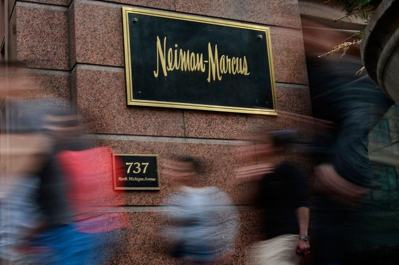 Neiman Marcus Store Logo Exterior