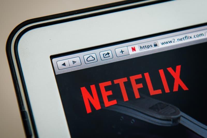 Netflix Application Laptop