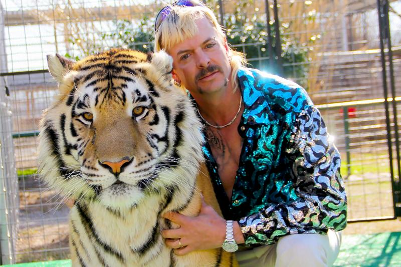 Netflix Tiger King Joe Exotic Portrait