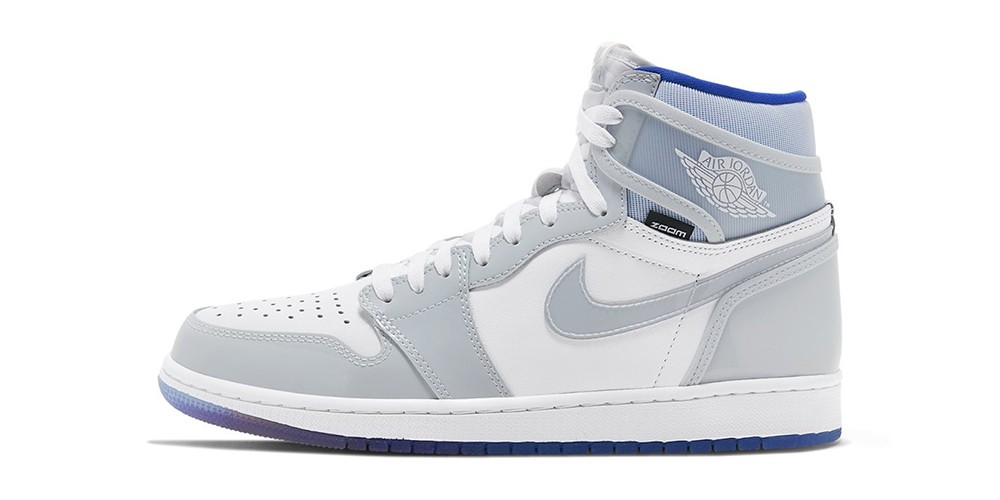 Nike Air Jordan 1 High Zoom Blue \u0026 Grey