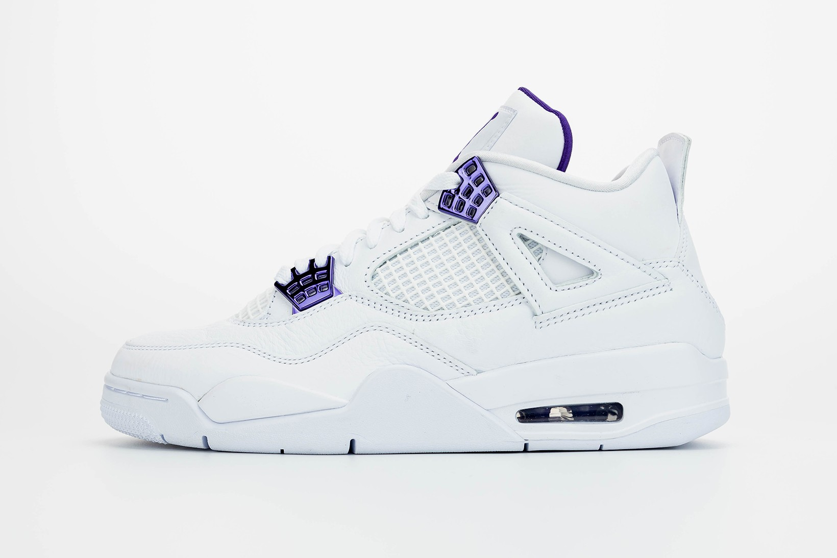 White/Purple Air Jordan 4 Release Date