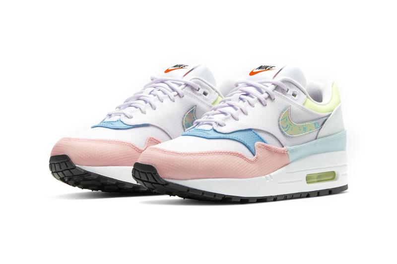 nike air max 1 barely grape hyper turquoise rose clear iridescent swoosh womens sneakers