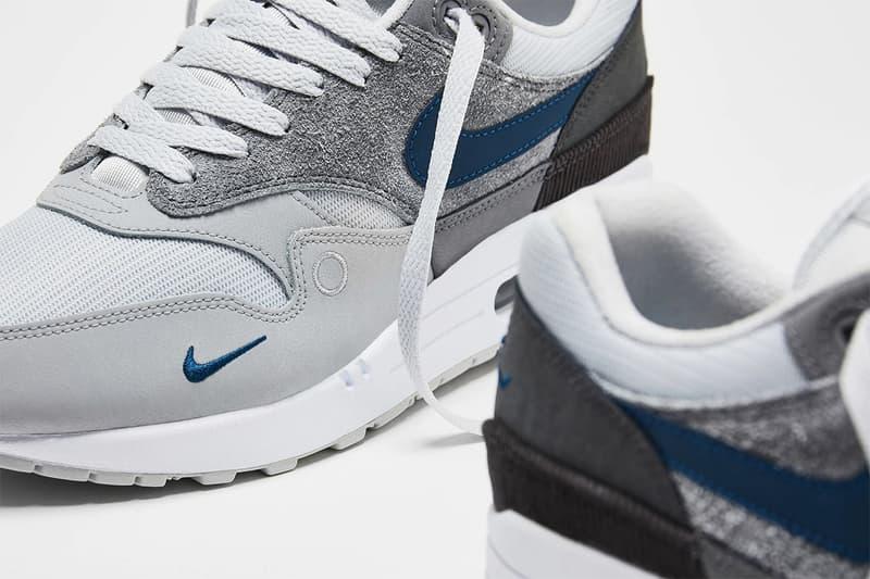nike air max 1 london amsterdam sneakers grey blue peach brown city series shoes footwear sneakerhead